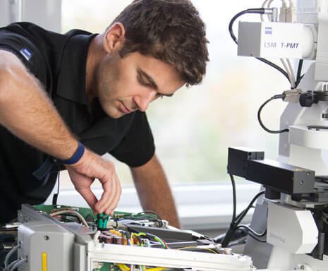 Microscope servicing, maintenance and repairs Bedfordshire